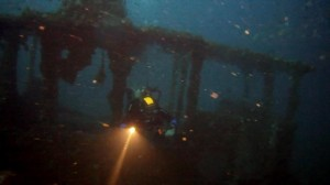 Wreck diving Med